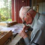 Matti Aholasta tuli maailmanluokan perhostutkija