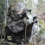 Mäyrävuoren ulkoilualueelta löytyy erikoisia kiviä.