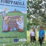 Vuoden varrelta, Rautajärvi: Torppakylä alkaa nousta Rautajärvelle – ensimmäisen alueelle rakentuvan hirsitalon hirret ovat peräisin kylällä sijaitsevasta Pentintalosta