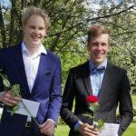 Pienestä kylästä nousee tulevaisuuden tekijöitä – Laitikkala maailman kartalle -stipendit menivät Topi Rönnille ja Rauli Aholle