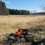 Näkymä Rautajärven laavulta. Kuva: Kirsi Oesch