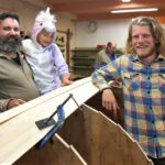 Tuhansia vuosia vanha perinnetaito herää Luopioisten veneveistämöllä – myös oman veneen rakentaminen mahdollista