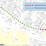 Aakkulantien pyörätien ja jalkakäytävän rakentaminen alkoi – työ aiheuttaa poikkeuksellisia liikennejärjestelyitä
