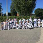 Kangasalan ja Aitoon taekwondoseurat leireilivät yhdessä – Huutijärven koululla saatiin murskausoppia maailman huipulta