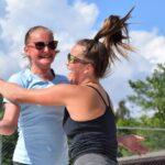 Kokeilu, joka kannatti – beach volleyn keväällä aloittaneet Ida Ruohonen ja Veera Vasenius päättivät kesän SM-lopputurnauksessa
