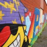 Päiväkodin seinä täytettiin graffiteilla Kangasalla