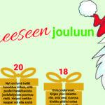 Kalenteri jouluun laskeutumiseen – vinksahtanut muistilista joulukuulle