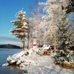 Talvinen kuvatervehdys majakalta