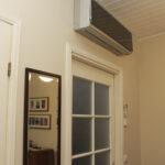 Ilmalämpöpumppu voi olla talon pääasiallinen lämmönlähde, mutta ei kuitenkaan ainoa – Pumppu asennetaan lähes aina vanhaan taloon