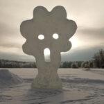 Jääveistokset lumoavat Rautajärvellä – Joni Laurimaan töistä iloa vuodesta toiseen