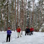 Hiihtäminen, luistelu, potkukelkkailu – kaikki onnistuu, kun on kunnon talvi