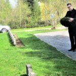 Sahalahden sankarihaudalle laskettiin seppele