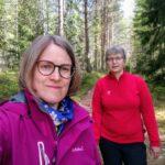 Retkiluistelulenkki unelmakelillä muuttui pelastustehtäväksi – Hilpi Linjama ja Maria Valtonen pelastivat neuvokkaalla toiminnallaan avantoon pudonneen miehen