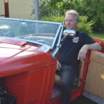 Jukka Hietasen Chevrolet oli yleisön suosikki harrasteajoneuvojen illassa Vilpeilässä