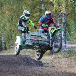 Vanhat motocross-pyörät ja sivuvaunut kisaavat lokakuussa Kisarannassa